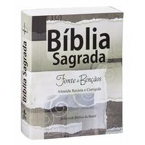 Bíblia Sagrada Pequena Fonte De Bençãos Arc 9,5 X 12,5 Cm
