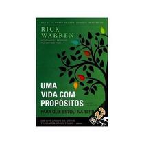 Promoção Livro: Uma Vida Com Propósitos