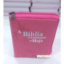 Bíblia Sagrada Nova Tradução Na Linguagem De Hoje - Pink