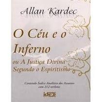 Céu E O Inferno - Capa Plastica - Editora Ide - Normal