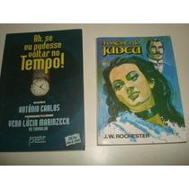 Lote C/ 2 Livros Espiritas - Romances - R$ 18,00 O Lote.