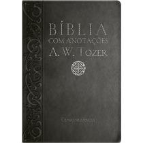 Bíblia Com Anotações A. W. Tozer E Concordância.