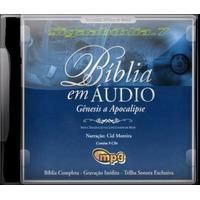 Cd Bíblia Narrada Na Voz De Cid Moreira