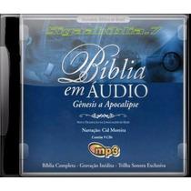 2 Cds Bíblia Narrada Na Voz De Cid Moreira
