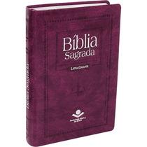 Bíblia Letra Gigante, Palavras Em Vermelho E Índice Digital.