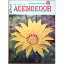 A4276 Revista Acendedor N.137, 1981, Movimento Seicho-no-ie,