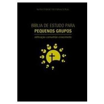 Bíblia De Estudo Para Pequenos Grupos - Preto