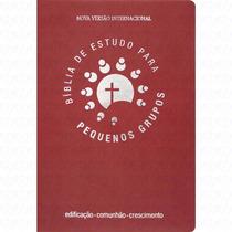Biblia De Estudo Para Pequenos Grupos (vermelha)
