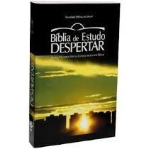 Bíblia De Estudo Despertar Com Os 12 Passos Do Aa