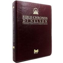Bíblia Chronos Di Nelson Expositiva+ Alpha At + Omega Nt