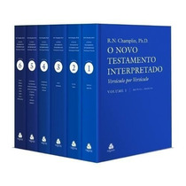 Novo Testamento Interpretado Champlin Frete Grátis