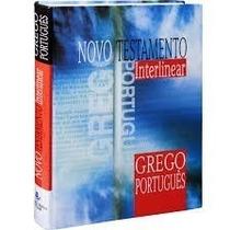 Novo Testamento Interlinear Grego/português - Sbb