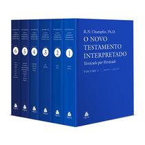 O Novo Testamento Interpretado Champlin Frete Gratis