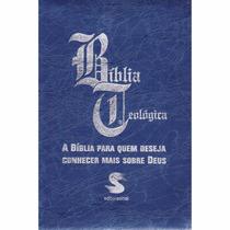 Biblia Sagrada De Estudo Teológica - Frete Grátis
