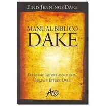 Manaul Bíblico Dake Finis Jennings Dake Completo