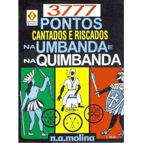 Livro 3777pontos Cantados E Riscados-umbanda-fretegrátis
