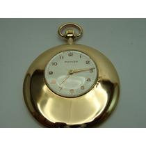 Relógio De Bolso Movado De Ouro 18k Jr Joalheiro.