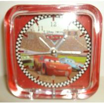 Relógio Despertador Com Luz Cars Disney Relâmpago Mcqueen