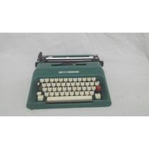 Maquina De Escrever Olivetti College,verde