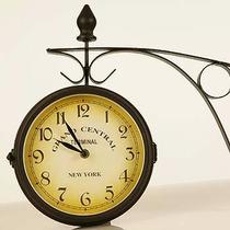 Relógio De Estação Ferroviária Vintage Retrô Diamêtro 20 Cm