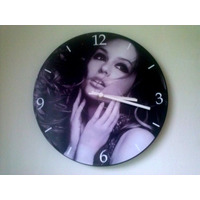 Relógio De Parede Em Vinil, Salão De Beleza