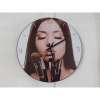 Relógio De Parede Em Vinil, Salão De Beleza, Maquiagem, Make