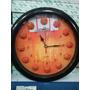 Relógio De Parede 3d - Bola De Basquete Quadra