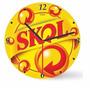 Relógio De Parede Wood Skol 29cm