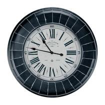 Relógio De Parede Gigante Paris France Em Metal