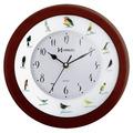 6658 - Relógio De Parede Sweep Canto De Passaros Brasileiros