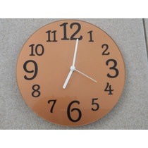 Relógio De Parede Cobreado Sala Cozinha