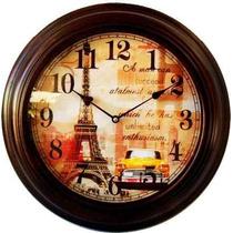 Relógio De Parede Paris Linha Retrô