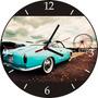 Relógio De Parede Em Vinil, Karmannghia, Carros Antigos
