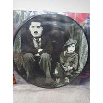 Quadro Personalizado Em Vinil Charles Chaplin