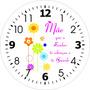 Relogio Madeira 29x29cm Presente Dia Das Mães Foto De Filhos