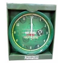 Relógio De Parede Palmeiras Verde Verdão Alviverde Lindo