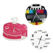 Relógio De Parede Criativo Para Cozinha Ou Sala Fun Design