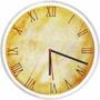 Relógio Parede Vintage Retrô Decorativo Números Romanos