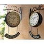 Relógio Estação Hotel Restaurante Bem-vindo Canto Pássaros