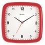 6638 Relógio Parede Preto Azul Vermelho Branco Amarelo Herwe