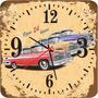 Relógio De Parede Em Mdf - Carros Retrô - Antigo - Réplicas