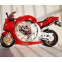 Relogio De Parede Decoração Moto Vermelho #produto Ótimo