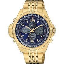 Citizen Js1043 Dourado Promaster Combo Temp Js1043-53l