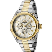Relógio Invicta Mens 43659-002 Silver Dial Two-tone