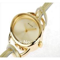 Relógio Feminino Prata, Ouro, Preto, Marron