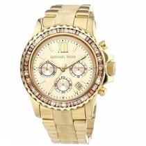 Relógio Michael Kors Mk5874 Dourado Madrepérola Frete Grátis