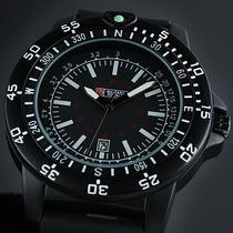 Relógio Importado Military Royale Pulseira Em Borracha