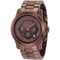 Relógio Michael Kors Mk8204 Brown Chocolate - Completo