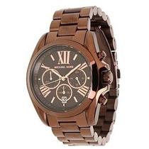 Relógio Michael Kors Mk5628 Brown Chocolate - Completo