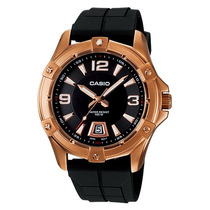 Relógio Casio Mtd-1062-1a Dourado Robusto Lindo Casual